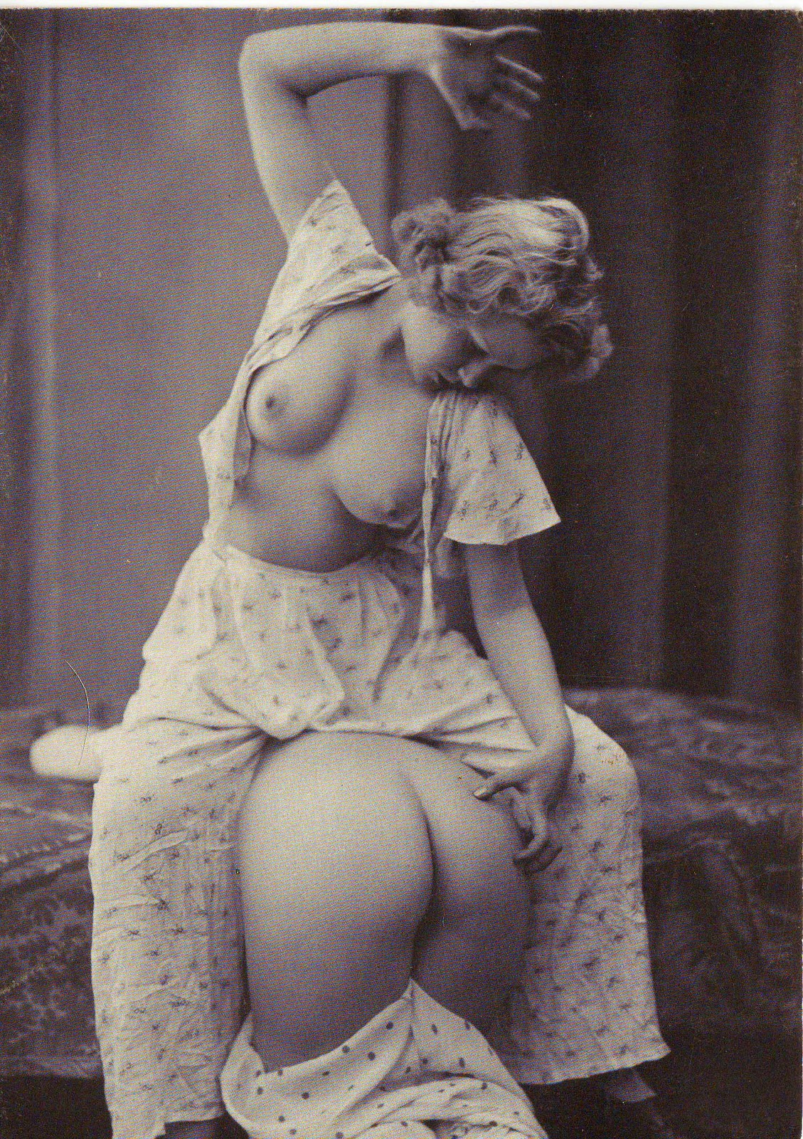 Vintage erotic spanking remarkable, the