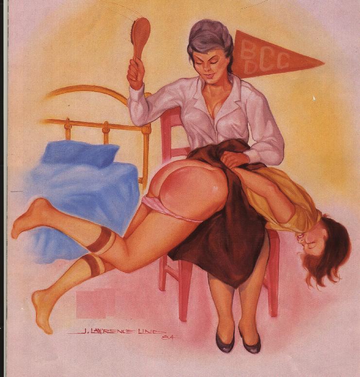 Erotica spank hairbrush — img 14