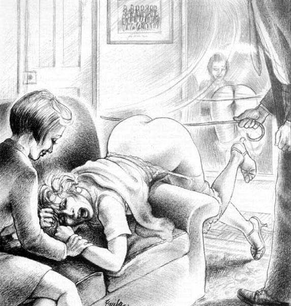 Drawings spanking paula meadows